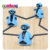 Educational kids diy inductive drawn toy line follower robot