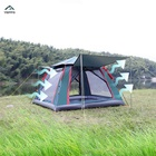 Outdoor four-sided tent full automatic speed open family air camping tent