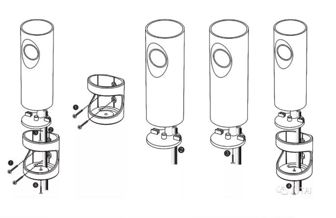 capteurs de faisceau de cellules photoélectriques rotatives