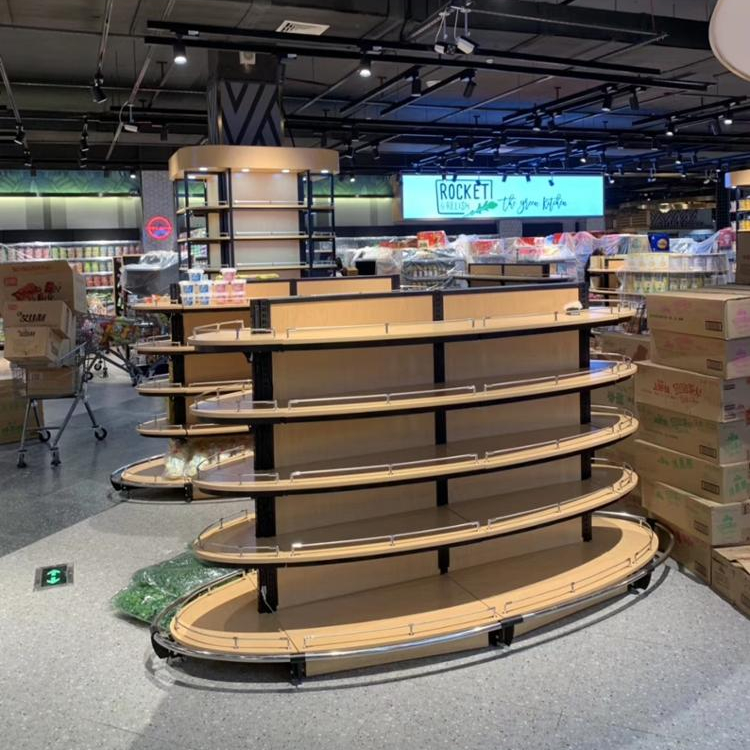 2019 new design supermarket equipment store shop fitting display shelves for <strong>retail</strong>
