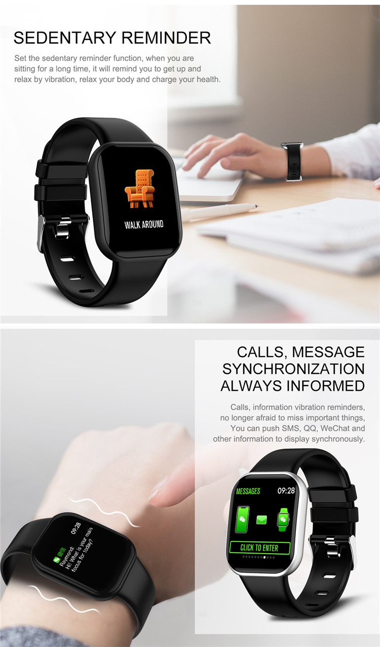 X16 watch wristband smart bracelet/ip67 waterproof bracelet smart band fitness tracker Health monitoring watch
