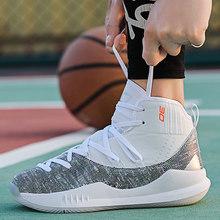 Мужская баскетбольная обувь Jordan с высоким берцем, амортизирующий светильник, баскетбольные кроссовки, Мужская дышащая Спортивная обувь ...(Китай)