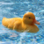 V203 Floating Toys Yellow Duck RC Boat Radio Control Toy For Swimming Pool And Water Fun Games Toys For Kids