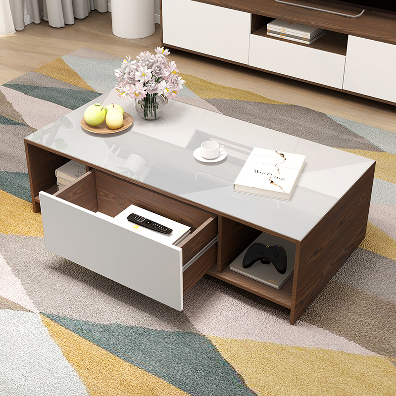 Modern contemporary TV cabinet wooden tv stand furniture