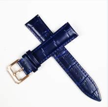 Ремешок для часов из натуральной коровьей кожи, женские наручные часы, ремешок, синий, розовый, красный, белый, розовый, пряжка 12 мм, 14 мм, 16 мм,...(China)