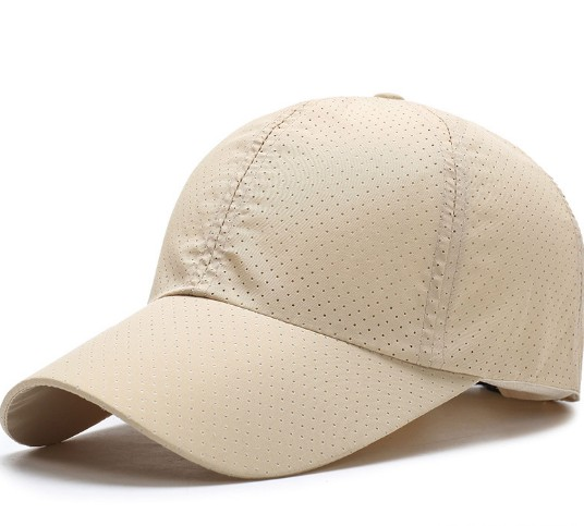 Wholesales blank outdoor quick dry women and men's baseball sport cap