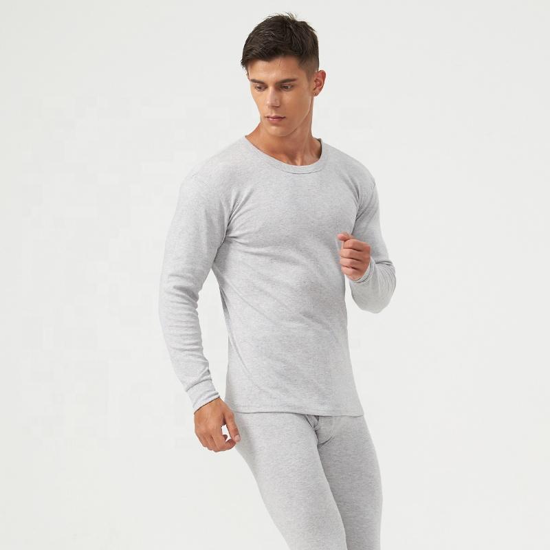 man's thermal underwear long johns 100% cotton Sets Winter Warm Men's Thick Thermal Underwear Long Johns wholesale