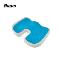 Wholesale Cooling Gel Cover Memory Foam Orthopedic Comfort Seat Cushion For Office Chair