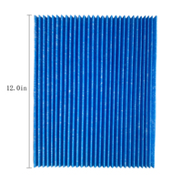 Customized Pleated air filter with vacuum filter for Daikin BAC006A4C BAC017A4C Air Purifier
