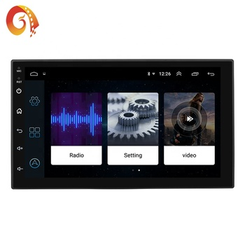 New Product Android 7168C GPS Navigation 7 inch Car Android 8.0 Wifi BT Universal Android Radio Stereo