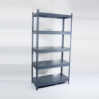 Light duty steel stacking rack