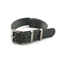 2019 Hot Item For SEIKO Watch Collector's Favorite Thick Watch Strap 20mm 22mm Seatbelt Nato Strap