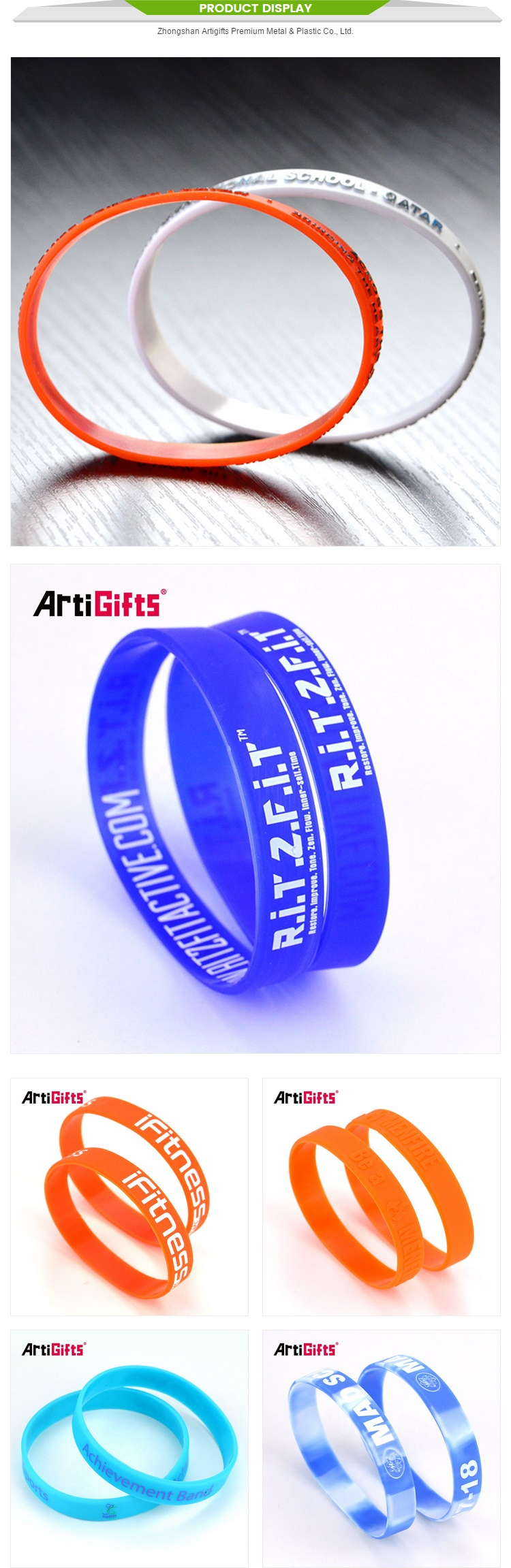 100% Silicon customized vet recommended watch adjustable bracelet wristband silicone wristbands with button