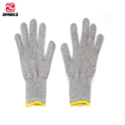 hand work safety level 5 hppe anti cut gloves cut resistant for knife glass etc