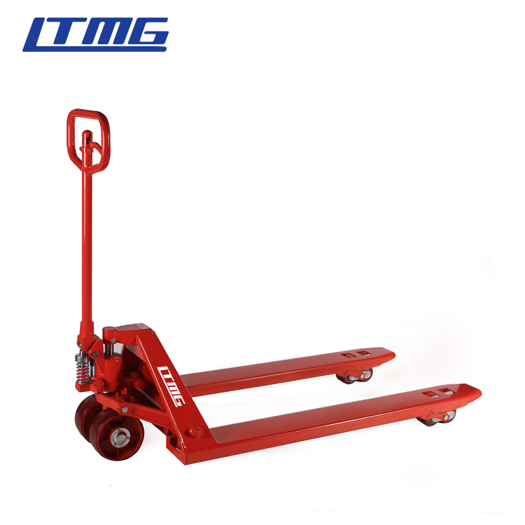 In stock 2ton hand pallet truck 2 ton 3ton manual hand forklift with import pump