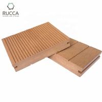 Rucca WPC Composite Solid Decking Wood Flooring Tiles Low Price