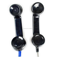 Popular design Cheap Fast production Black telephone handset
