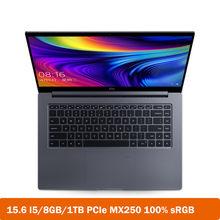 Xiaomi Mi Laptop Pro Улучшенный 15,6-дюймовый процессор Intel Core i5 -10210U 8 ГБ ОЗУ 1 ТБ SSD ультратонкий ноутбук MX250 Windows 10 компьютер(Китай)