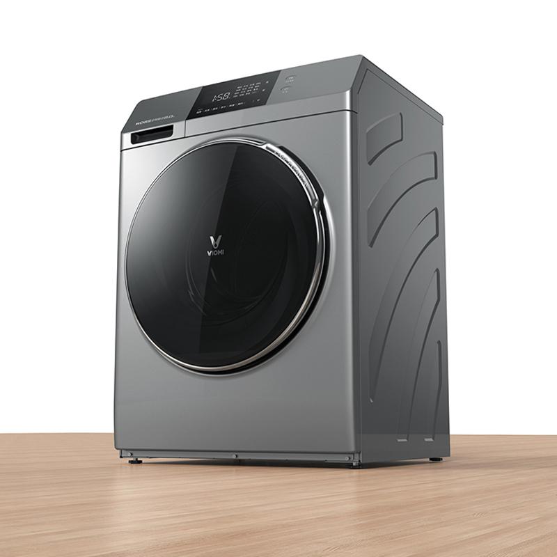 Uso en casa de carga frontal lavandería automática Internet máquina de lavado y secado