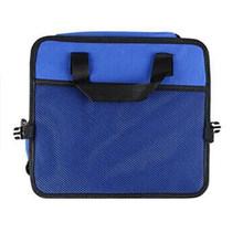 Автомобильная задняя многофункциональная сумка для хранения Складная кожаная сумка-Органайзер для автомобиля многокарманная коробка для ...(Китай)