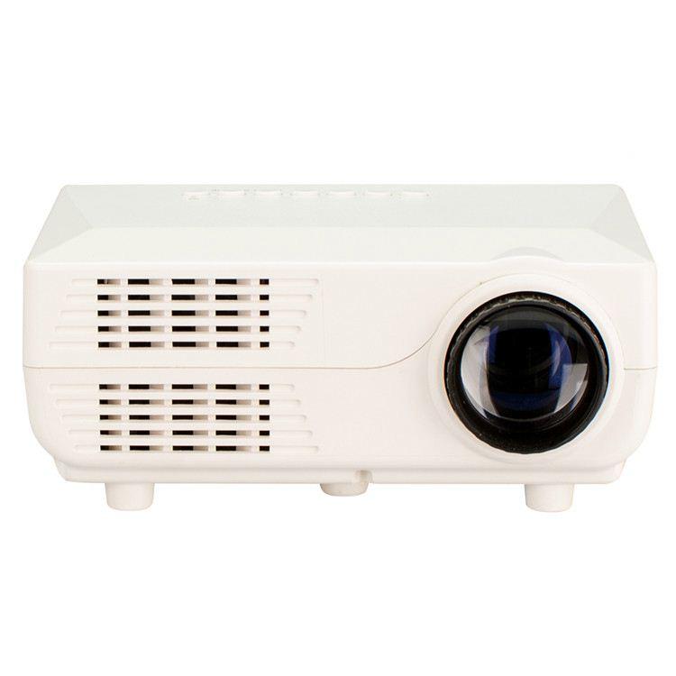 500LMs дешевые Powerbank USB питания SD мини ТВ led мини-проектор для экспорта