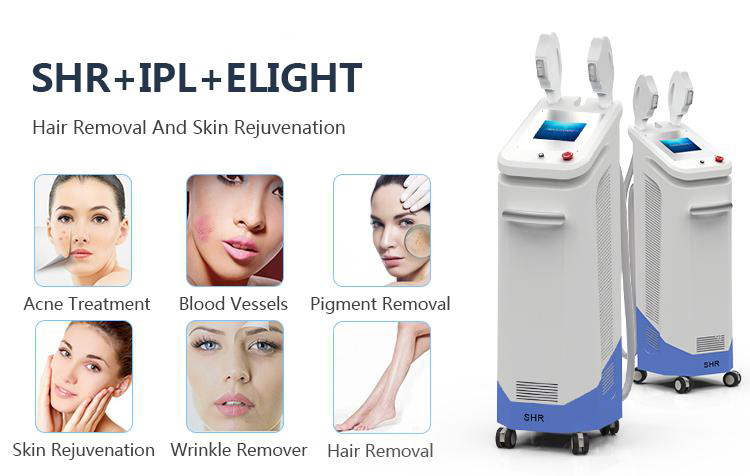 Depilacion Laser Aesthetic Stationary Skin Rejuvenation Attractive Shr Opt Beauty Machine Bbl Ipl Machine