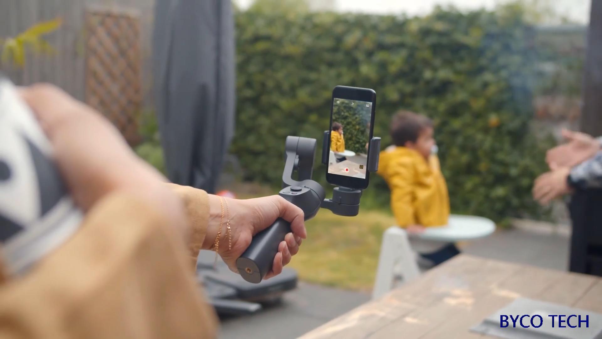 2020 ホット販売新しいfunsnapキャプチャ 2 顔認識 3 軸スマートフォンジンバル電話スタビライザー