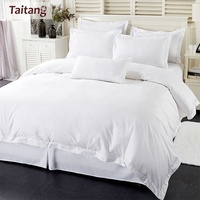 wholesale 100% Cotton 300TC/400TC bed sheet/duvet cover/pillow case for hotel