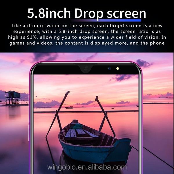 2019 P33 Android 4 + 64G Del Telefono Mobile HD della Macchina Fotografica di Bluetooth GPS Del Cellulare da 5.72 pollici 3G Prezzo di Fabbrica smartphone
