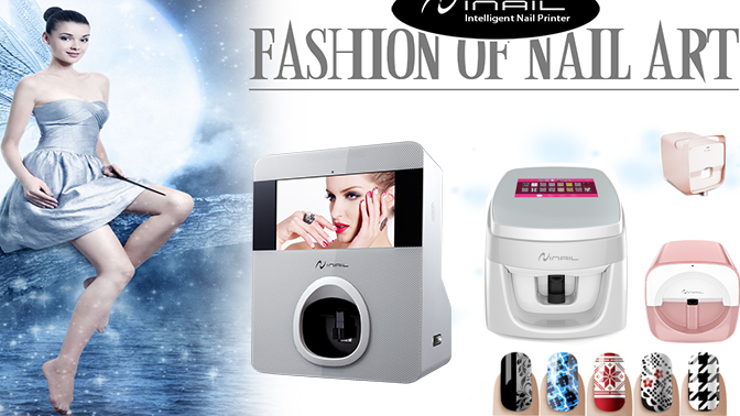 Factory Wholesale Price Automatic Finger Nails Printing Wifi Portable Nail Printer Professional Digital Nail Art Printer Machine