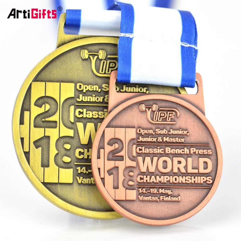 Wholesale cheap custom metal sport gold award cup trophies and medals