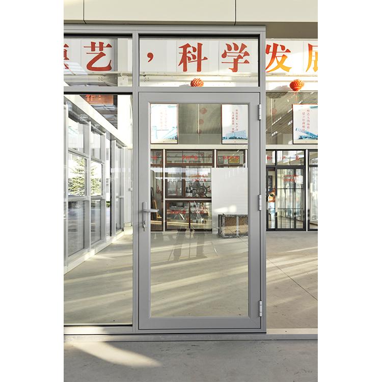 Modern new design aluminum internal casement glass door 900*2100 mm Soundproof Hinged door for villa project