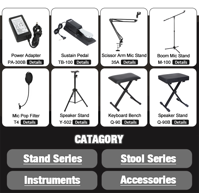 X-Frame Folding Small Keyboard Stand electronic organ stand for keyboard piano