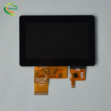 Kleine maat 4.3 inch <span class=keywords><strong>oem</strong></span> touch screen lcd capacitieve scherm met I2C interface voor industrie controle