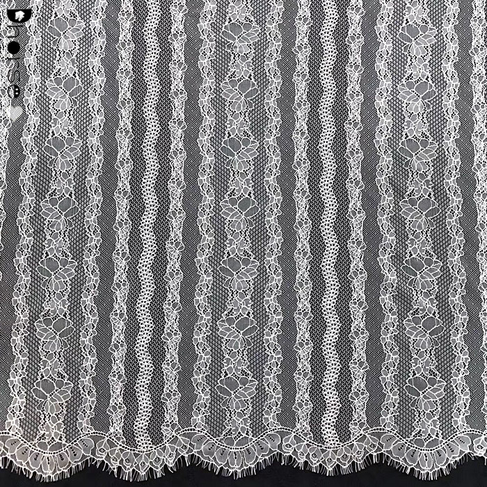 Beautiful Eyelash French Lace Fabric For Bridal