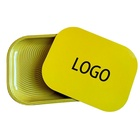 Gold Sublimation Multi Premium Storage Tabacco Food Portable Custom Print Logo Rolling Tray