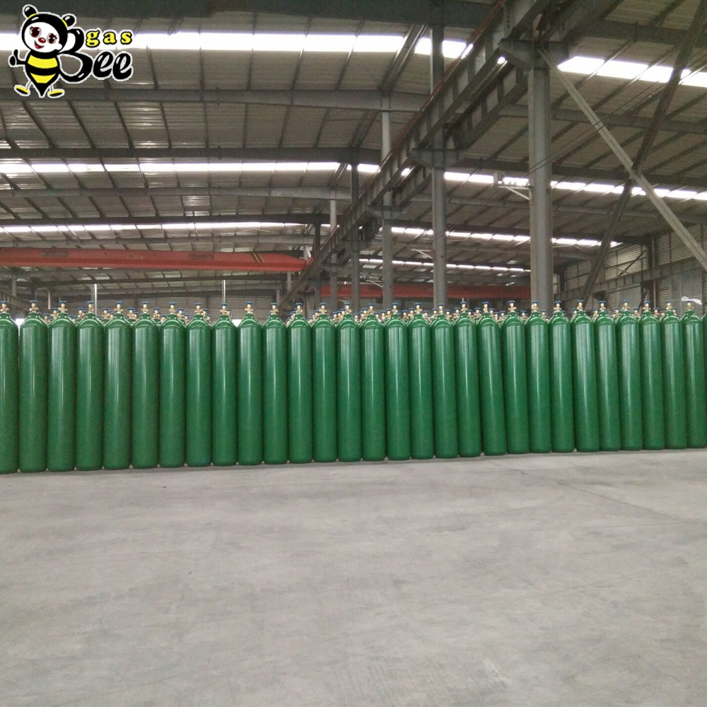 Popular 40L 150Bar High Purity Industrial Price Gases Argon