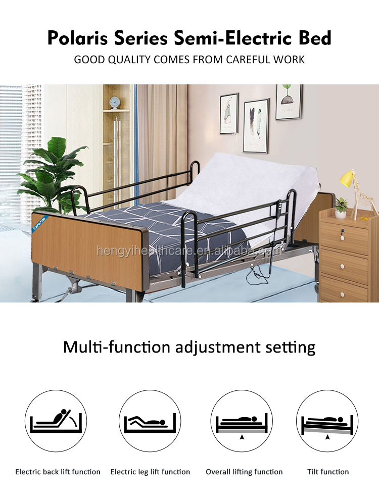 CareAge74710 hot Selling Hospital Bed With Low Price