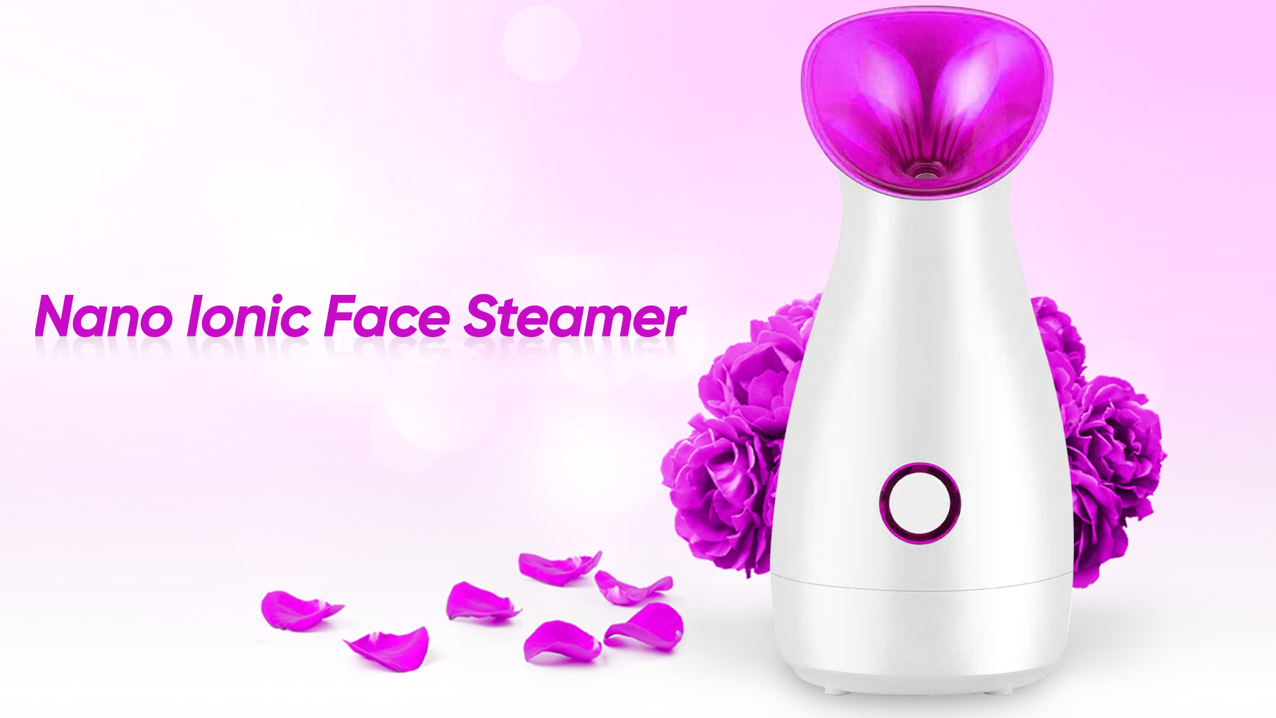 ONULISS Kecantikan perawatan Pribadi Wajah Steamer Sprayer Wajah Humidifier Steamer Wajah