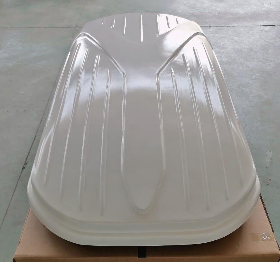 530L Custom Logo Cargo Box Roof Waterproof Luggage Carry Universal Car Roof Cargo Box