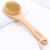 Hot sell natural grass tree brush  wooden handle  brush body cleaning brush