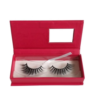 Qingdao Mink Lashes Vendor Free Sample 3d Mink Eyelashes with Custom Packaging