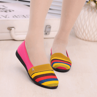 Beach Shoes Women Sandals Summer Old Beijing cloth shoes ladies flat sandal