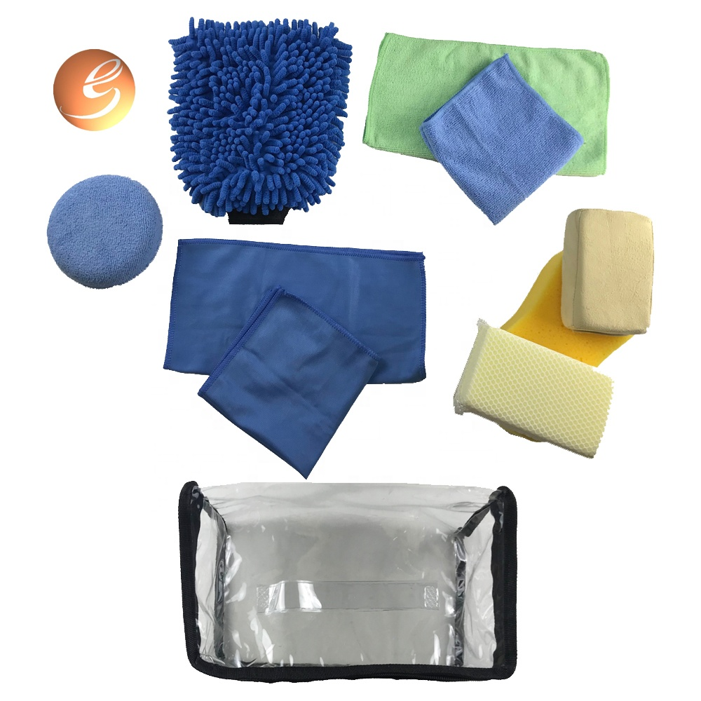 Hot selling interior exterior low MOQ car use cleaning wash kit
