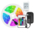 LED 5050 RGB 5m tira de 24Key controlador remoto IR cambiando de Color PI65 impermeable luces de tira de Led Kit