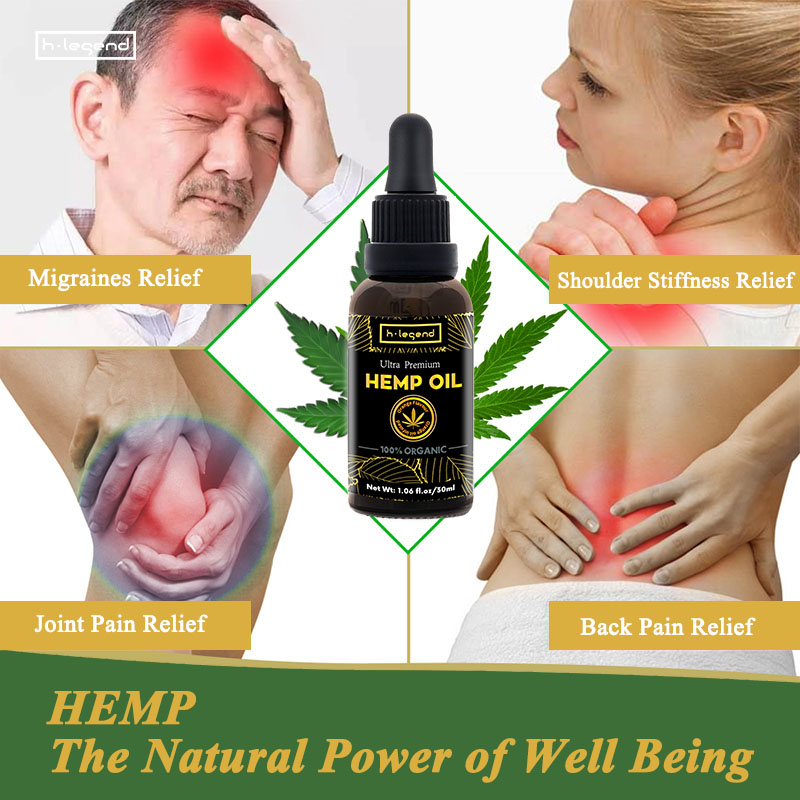 Private Label White Label Pure Organic 5000mg Raw Hemp Oil Extract Orange Flavor Hemp Seed Oil for Pain Stress Relief