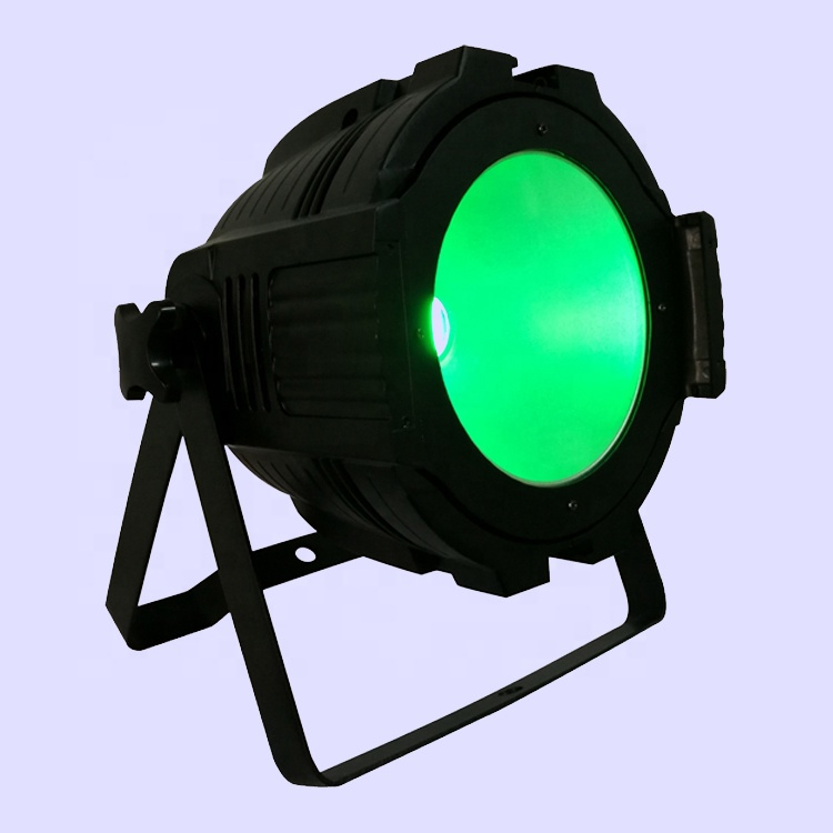 Hot sale Led COB Par Light price list in China 200W RGB 3in1 DMX Lighting Indoor Multi- color Par Light