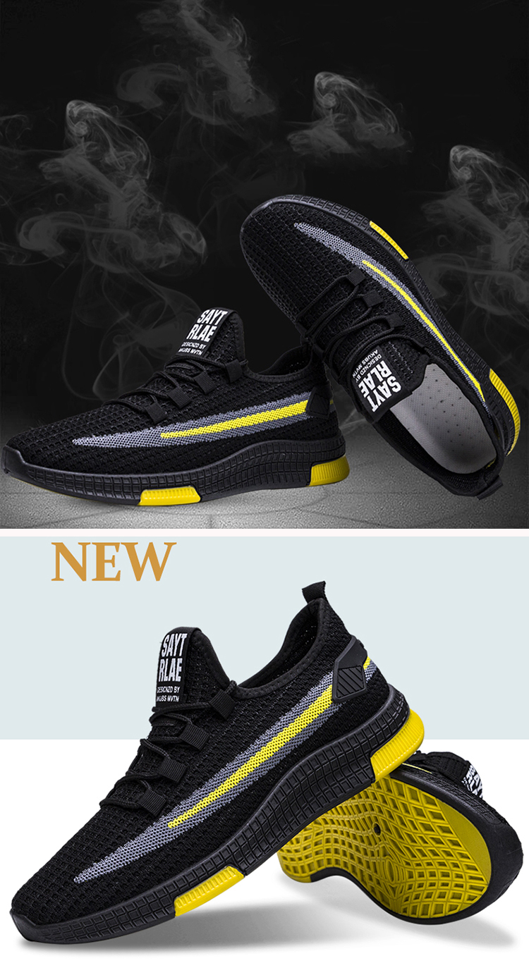 China factory supplied top quality mesh shoes high fashion sneakers for men