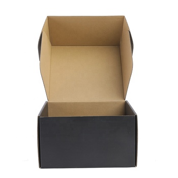 Recyclable and foldable custom kraft paper box corrugated cardboard airplane shipping box