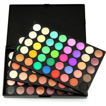 Free Shipping To USA Wholesale 120 Colors Glitter Eyeshadow Palette Cosmetic Waterproof Matte Makeup